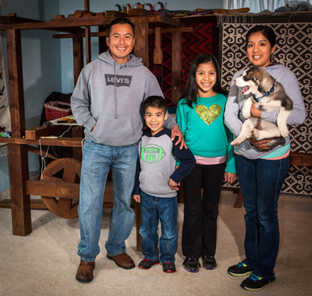 francisco bautista weaving family